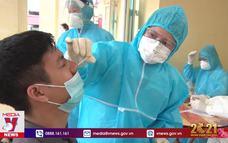 Xét nghiệm SARS-CoV-2 cho thanh niên vùng dịch trước khi lên đường nhập ngũ