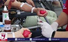 700 tình nguyện viên tham gia hiến máu tại Hòa Bình