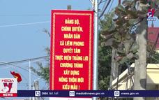 Hà Nam có 6 xã đạt chuẩn nông thôn mới kiểu mẫu