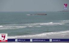 Cứu kịp thời 7 người trên tàu hàng bị chìm ở vùng biển Mũi Né