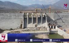 Hệ thống thủy lợi Tân Mỹ, Ninh Thuận bắt đầu tích nước