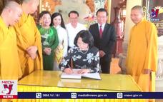 Phó Chủ tịch nước thăm cơ sở du lịch tâm linh
