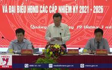 Kiểm tra, giám sát công tác bầu cử tại Quảng Trị