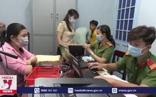Hà Tiên xuyên đêm cấp thẻ căn cước công dân