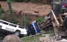 Cập nhật tình hình vụ tai nạn giao thông liên hoàn tại Quảng Trị