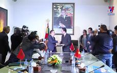 Việt Nam với bạn bè quốc tế ngày 22/03/2021