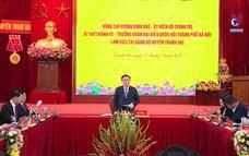 Thanh Oai phải trở thành quận của Thủ đô trước năm 2030