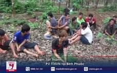 Triệt phá tụ điểm bán ma túy trong lô cao su tại Bình Phước