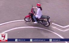 Bịt lỗ hổng pháp lý khihọc sinh sử dụng xe gắn máy