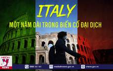 Italy, một năm dài trong biến cố đại dịch