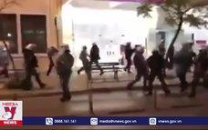 Biểu tình kích động bạo loạn tại Hy Lạp