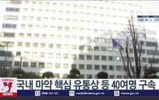 Hàn Quốc triệt phá đường dây ma túy từ Đông Nam Á