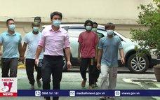 ĐSQ Việt Nam tại Malaysia bảo hộ ngư dân bị nạn trên biển