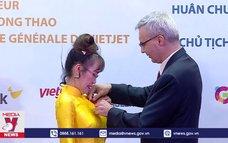 Trao huân chương Bắc đẩu bội tinh cho nữ doanh nhân Nguyễn Thị Phương Thảo