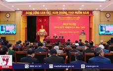 Hội nghị tổng kết Hội đồng Lý luận Trung ương nhiệm kỳ 2016-2021