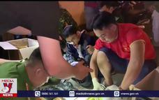 Bắt đối tượng vận chuyển 11 kg ma túy tại Quảng Trị