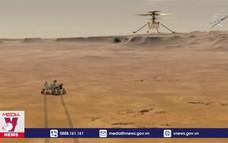 Trực thăng Ingenuity bay thành công trên Sao Hỏa