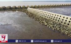 Tiền Giang khắc phục tình trạng sạt lở đê biển Gò Công