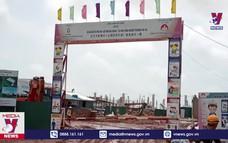 Khắc phục sự cố vụ sập nhà xưởng ở KCN Hải Hà