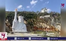 SaPa tạm đóng cửa điểm check-in tượng Nữ thần Tự do