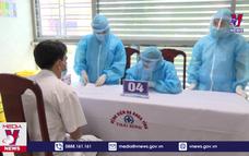 Thái Bình tiêm những mũi vaccine phòng COVID-19 đầu tiên