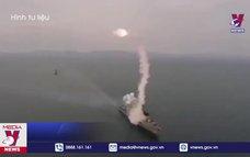 Hải quân Nga tập trận trên Biển Caspi