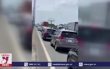 Trạm thu phí cao tốc TP.HCM – Long Thành bị lập biên bản phạt