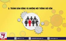 Người dân cần làm gì ngay để không lây nhiễm COVID-19