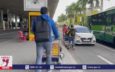 Sân bay Tân Sơn Nhất có làn xe công nghệ riêng