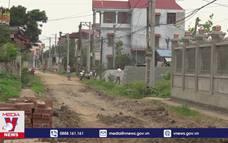 Giáo dân Nam Định hiến đất làm đường nông thôn mới