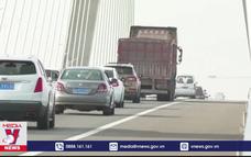 Lưu lượng giao thông tại Trung Quốc tăng cao dịp lễ 1/5