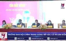 Trưởng Ban Nội chính Trung ương tiếp xúc cử tri Lâm Đồng