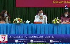Ông Phạm Bình Minh vận động bầu cử tại Bà Rịa – Vũng Tàu
