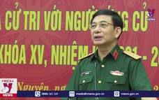 Bộ trưởng Quốc phòng vận động bầu cử tại Thái Nguyên