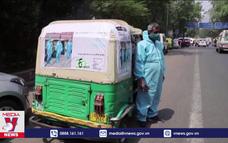 Xe cứu thương dã chiến tại Ấn Độ