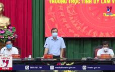 Lãnh đạo tỉnh Thái Bình động viên Bộ đội, Công an tuyến đầu chống dịch