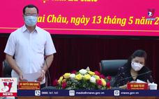 Đoàn công tác Hội đồng bầu cử Quốc gia làm việc tại Lai Châu