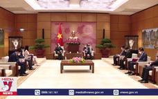 Chủ tịch Quốc hội tiếp Đại sứ Trung Quốc