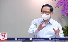 Thủ tướng thăm đội ngũ y, bác sĩ, nhân viên y tế tại TP.HCM