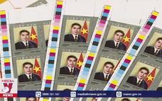 Phát hành bộ tem đầu tiên về nhà ngoại giao