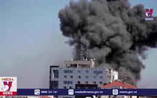 Văn phòng các hãng truyền thông tại Gaza trúng tên lửa
