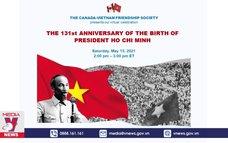 Hội thảo kỷ niệm 131 năm ngày sinh Chủ tịch Hồ Chí Minh tại Canada