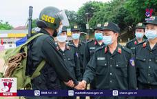 Chi viện 300 cảnh sát cơ động cho Bắc Giang