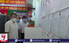 Khánh Hòa kiểm tra phòng chống dịch bảo vệ bầu cử