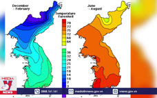 Vì sao mùa Hè ngày càng kéo dài trên bán đảo Triều Tiên