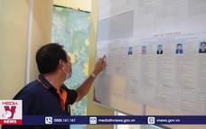 Kiểm tra công tác bầu cử tại xã đảo Thổ Châu