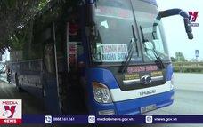 Ninh Bình tạm dừng hoạt động tuyến xe khách đường dài đi đến các vùng dịch và ngược lại