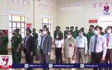 Bộ đội biên phòng tỉnh Đắk Nông tham gia bầu cử sớm