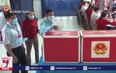 120.000 cử tri Núi Thành bầu cử trước khi ra khơi