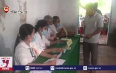 Cử tri đồng bào Khmer tham gia bầu cử